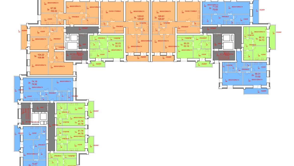 Схема планировки квартир-001